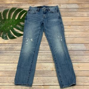 J.Crew womens broken in boyfriend distressed jeans